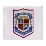 USS JOSEPH STRAUSS Throw Blanket