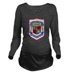 USS JOSEPH STRAUSS Long Sleeve Maternity T-Shirt