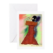 African Singer Blank Note Cards (Pk of 10)