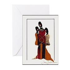Three Ladies Blank Note Cards (Pk of 10)