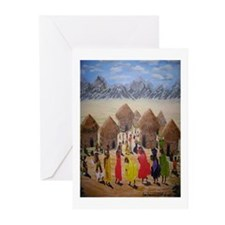 Village People Blank Note Cards (Pk of 10)