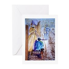 Country Walk Blank Note Cards (Pk of 10)