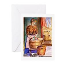 Wash Lady Blank Note Cards (Pk of 10)