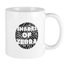 Shades of Zebra Mugs