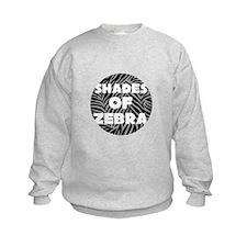 Shades of Zebra Sweatshirt