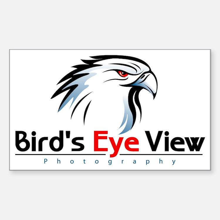 Bird's Eye View Logo Decal