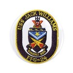 USS JACK WILLIAMS Button