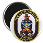 USS JACK WILLIAMS Magnet