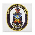 USS JACK WILLIAMS Tile Coaster