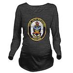 USS JACK WILLIAMS Long Sleeve Maternity T-Shirt