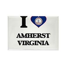 I love Amherst Virginia Magnets
