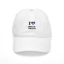 I love Bristol Virginia Baseball Cap