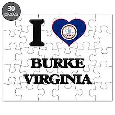 I love Burke Virginia Puzzle