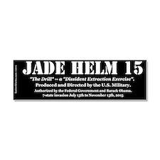 "Jade Helm 15 10x3"" Car Magnet 10 X 3"