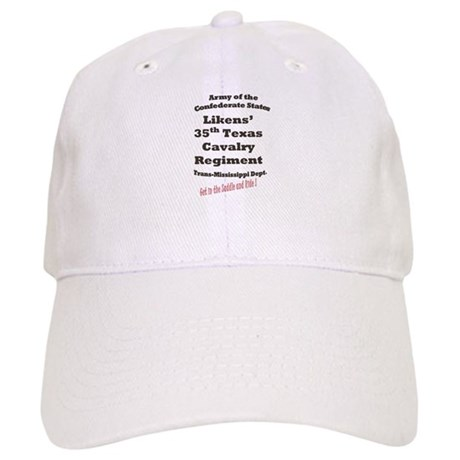 Likens 35th Texas Cavalry CSA Cap