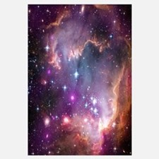 galaxy stars space nebula pink purple nasa photo p