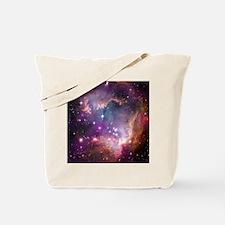 galaxy stars space nebula pink purple nas Tote Bag