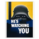 He's Watching You Small Poster