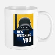 He's Watching You Small Small Mug