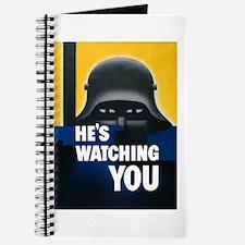 He's Watching You Journal