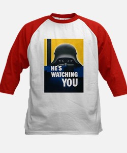 He's Watching You (Front) Tee