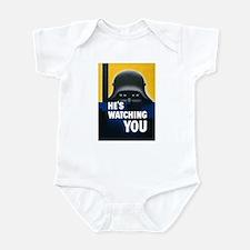 He's Watching You Infant Bodysuit