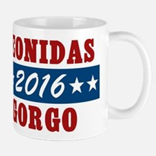 300 Vote For Leonidas / Gorgo Mugs