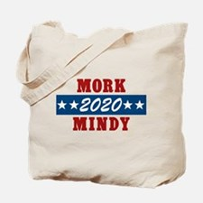 Vote Mork And Mindy 2016 Tote Bag