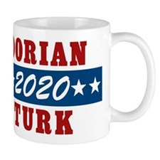 Scrubs Vote Dorian/Turk 2016 Mugs