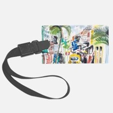 St Maarten Alley Luggage Tag