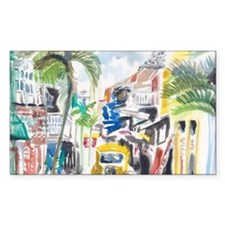 St Maarten Alley Decal