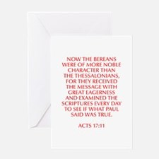 Now the Bereans were of more noble character than