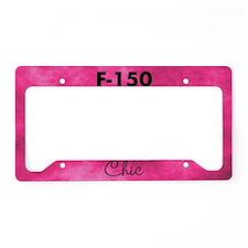 F150 Chic License Plate Holder