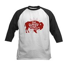 Glacier Buffalo Sunburst Red Tee
