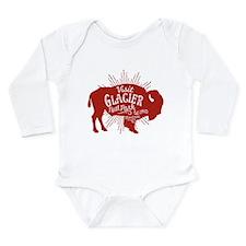 Glacier Buffalo Sunbur Long Sleeve Infant Bodysuit