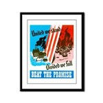 United We Stand Framed Panel Print