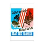 United We Stand Mini Poster Print