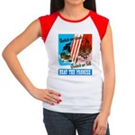 United We Stand Women's Cap Sleeve T-Shirt