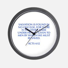 Salvation is found in no one else for there is no