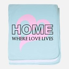 Home baby blanket