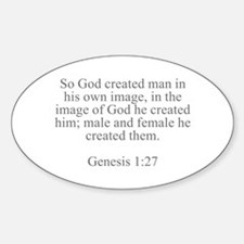 So God created man in his own image in the image o