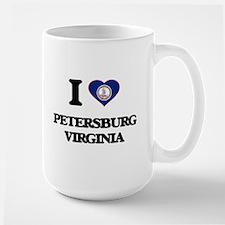 I love Petersburg Virginia Mugs
