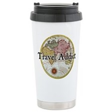 Unique Travel addict Travel Mug