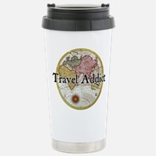 Funny Travel addict Travel Mug