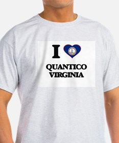 I love Quantico Virginia T-Shirt