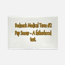 Pap Smear Rectangle Magnet