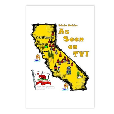 CA-As Seen! Postcards (Package of 8)
