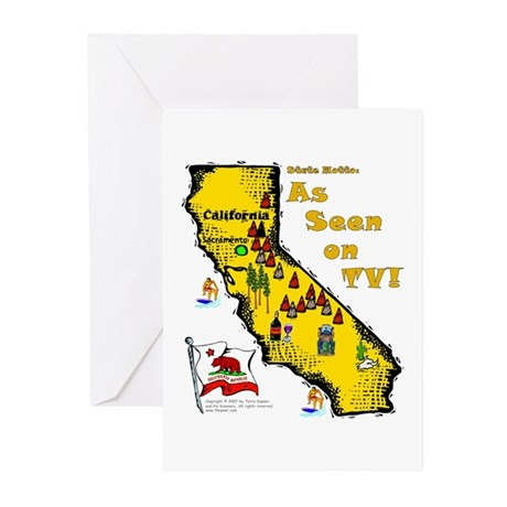 CA-As Seen! Greeting Cards (Pk of 10)