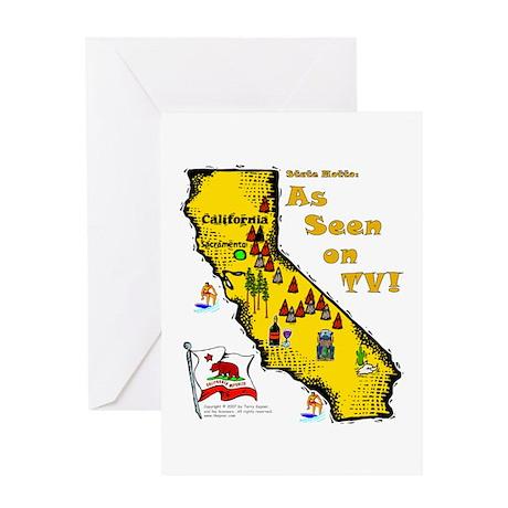CA-As Seen! Greeting Card