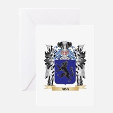 Aba Coat of Arms - Family Crest Greeting Cards